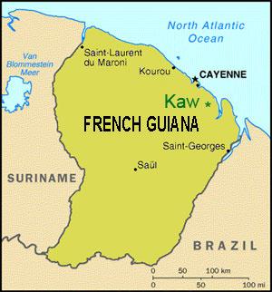 relationship between and guiana