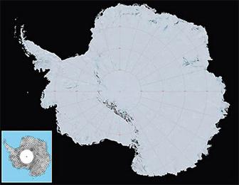 NASA releases high-resolution map of Antarctica