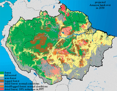 A map of Amazonia 2030,