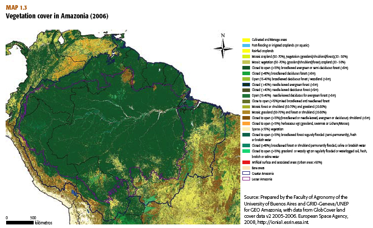 Amazon rainforest in big trouble says un click image for legend and to enlarge gumiabroncs Gallery