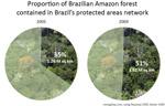 Brazil: king of conservation, deforestation for the 2000s