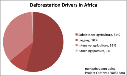 Drivers of deforestation in Africa