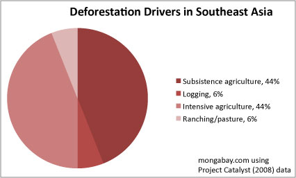 Drivers of deforestation in Southeast Asia