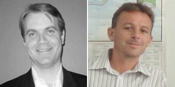 Craig Hanson (left) and Moray McLeish (right)