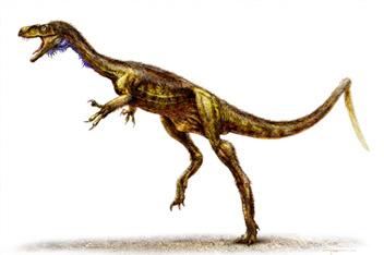 carnivorous pygmy dinosaur Eodromaeus