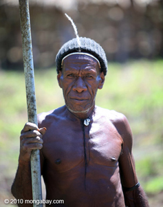 Man in New Guinea.