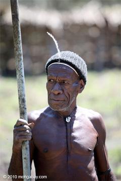 Papua man.