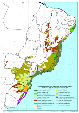 mata atlantica forest map