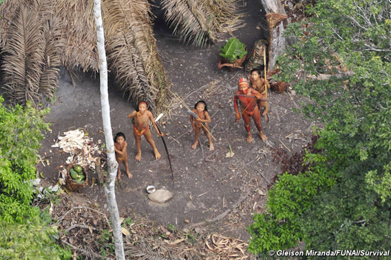 uncontacted indian tribe in the Amazon