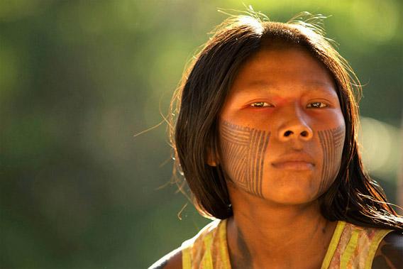 Kayapo girl