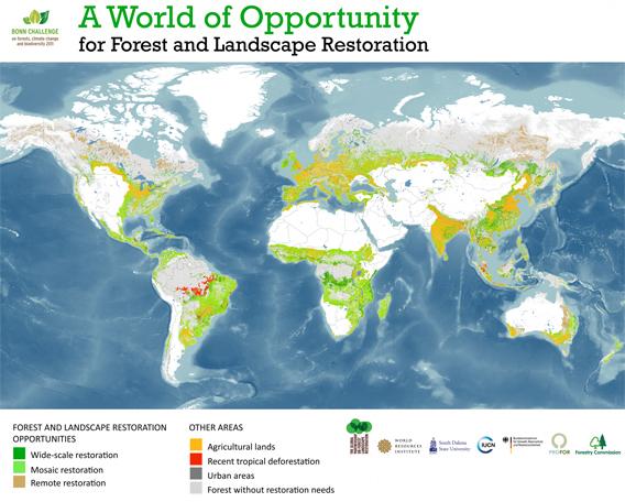 Global Partnership on Forest Landscape Restoration, World Resources Institute, South Dakota State University, International Union for Conservation of Nature. September, 2011.