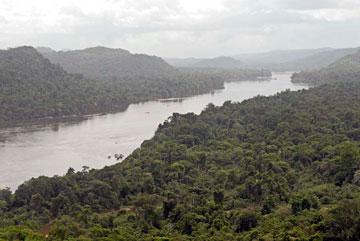 Caura River below Para Falls