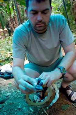 Herpetologist Bryan Stuart.