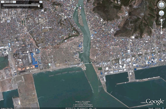sedai region after the tsunami
