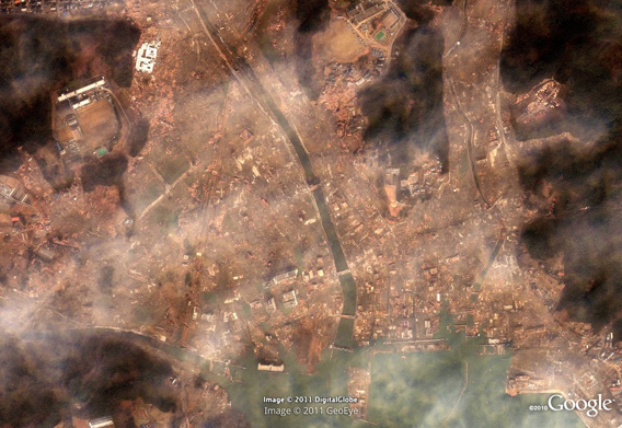 Minamisanriku after the March 11, 2011 Sendai earthquake and tsunami