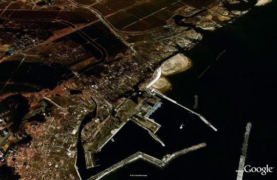 Odohama after the March 11, 2011 Sendai earthquake and tsunami