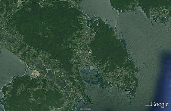 Ofunato Rikuzentakata Border Coast 2005