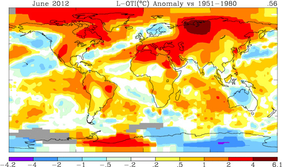 NASA GISS Surface Temperature Analysis