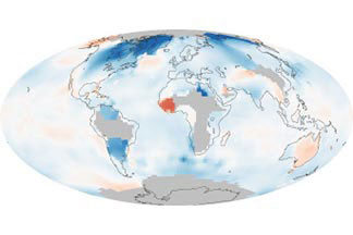 Global Temperatures:1880 - 1889