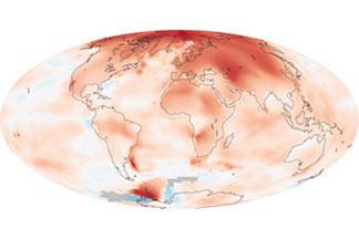 Global Temperatures:2000 - 2009