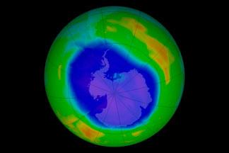 Antarctic Ozone Hole:September 12, 2011