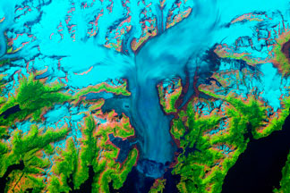 Columbia Glacier, Alaska:July 29, 1986