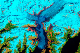 Columbia Glacier, Alaska:May 30, 2011