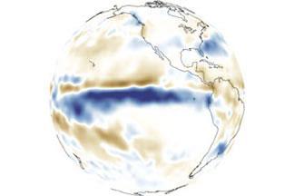 El Niño, La Niña, and Rainfall:Rainfall Anomaly, Dec 1997