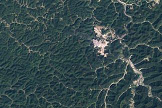 Mountaintop Mining, West Virginia:September 17, 1984