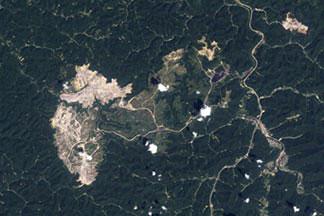 Mountaintop Mining, West Virginia:August 8, 2010