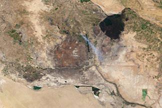 Mesopotamia Marshes:February 28, 2000