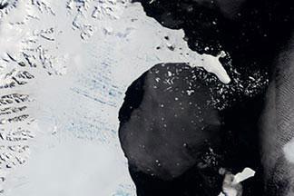 Larsen-B Ice Shelf:January 31, 2002