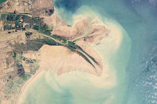 Yellow River Delta:June 20, 2009