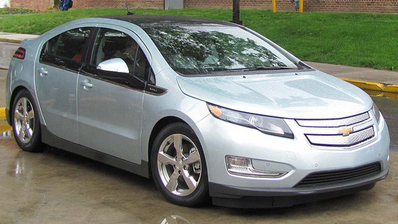 The Chevy Volt.