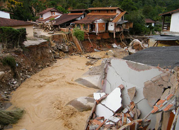 Floods wreaked havoc in Brazil this year. February 11, 2011. Photo by: Vladimir Platonow/Brasil, a public Brazilian news agency.