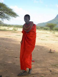 Samburu Woman. Photo © Samburu Watch/Survival International.