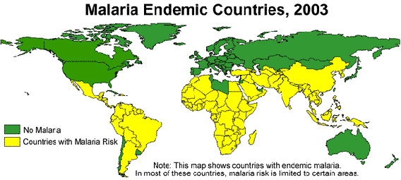 Map courtesy of the Center for Disease Control (CDC).