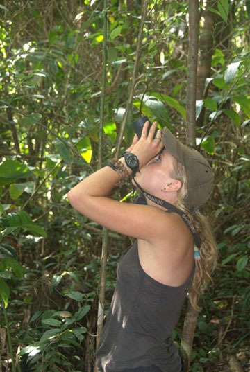 Searching for elusive lemurs, SE Madagascar. Photo by Daniel Austin.