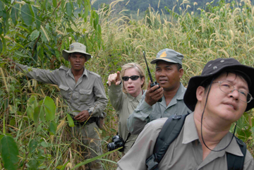 Suwanna Gauntlett on patrol, second from right. Photo courtesy of: Suwanna Gauntlett.