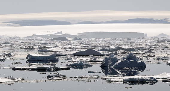 Antarctica: Ross Island in the Ross Sea. Photo by: Bigstock.