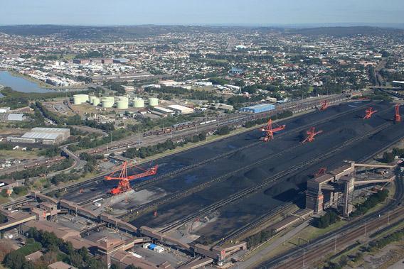 Coal Stacker - Newcastle Australia