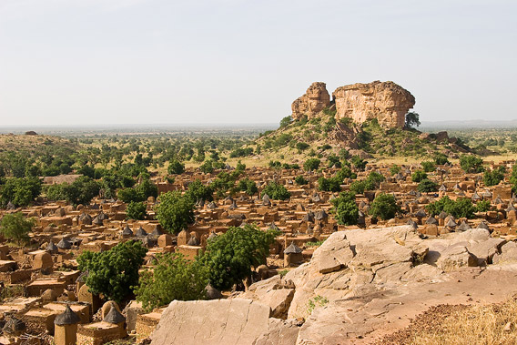 Dogon village Songo in Mali, Africa