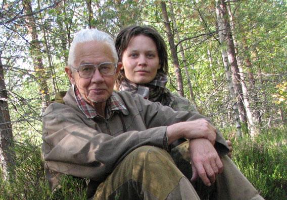 Victor Gorshkov and Anastassia Makarieva.