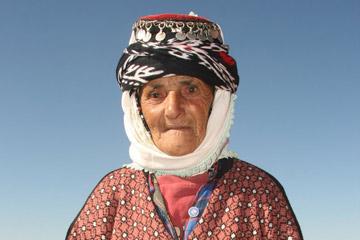 Local woman from eastern Turkey. Photo by: Cagan Sekercioglu.