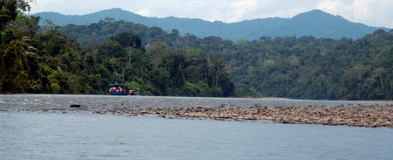 Upper Tambopata. Photo by: David Johnston.