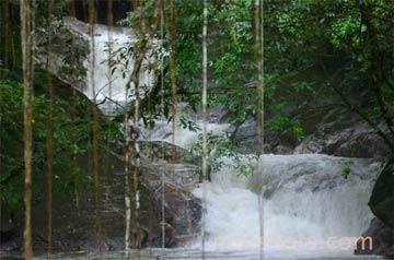 Waterfall in Colombia's Sierra Nevada. Photo by: Miguel Hernandez.