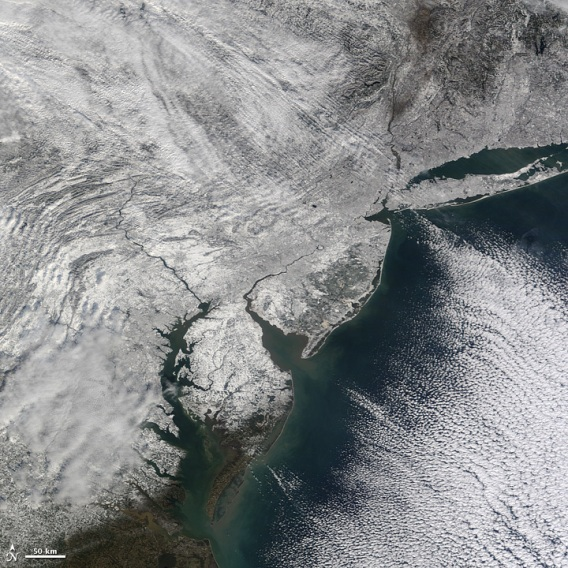 snow east coast u.s.