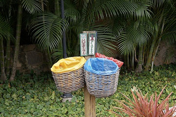 Recycling Brazilian style. Photo by Clare Raybould.