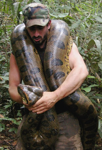 Secrets of the Amazon: giant anacondas and floating forests