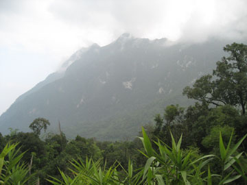 Mountain scenery in Wildlife Sanctuary in Thailand. Photo by: Katharine Sims.